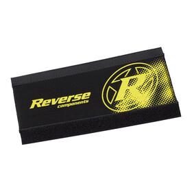 Reverse Neoprenskydd för bakgaffel Kedjestagsskydd gul/svart